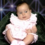 My daughter Felicity as a baby
