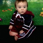 My first born son Thomas as a baby